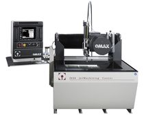 compact water-jet cutting machine 737 x 660 mm | OMAX® 2626 OMAX