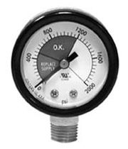 compressed gas Bourdon tube pressure gauge PCG Series WINTERS INSTRUMENTS