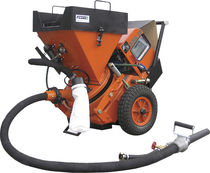 concrete spraying machine 0.5 - 6 m3/h | SSB 14 / SSB 24 series  Filamos
