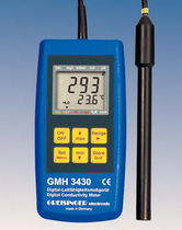 conductivity, TDS, salinity meter 0 - 200 ms/cm, 0 - 1999 mg/l, -5 - 100 &deg;C | GMH 3430 GHM-Messtechnik