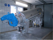 conical screw press for sludge dewatering RoS 3Q Huber Technology