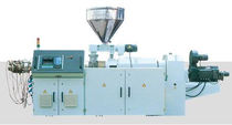conical twin screw extruder SJSZ series Tongsan Plastic Machinery Co., Ltd.