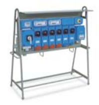 construction site electrical distribution cabinet with plug sockets 16 - 32 A, 220 - 380 V, IP65 | TAIS series Palazzoli SpA