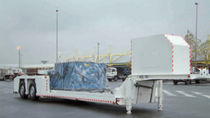 container carrier semi-trailer 21 000 - 30 500 kg | MS5000 MILOCO GROUP