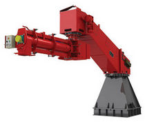 continuous foundry sand mixer with articulated arm SPARTAN lll �T� TURBO series Omega foundry machinery