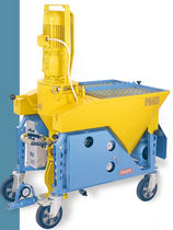 continuous mixer with articulated arm PS40 building equipment