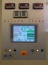 control console for concrete testing machines HPS 2100 Le Officine Riunite - Udine S.p.A.