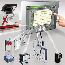 controller for adhesive application systems Xtend&sup2; Baumer hhs