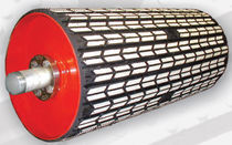 conveyor belt ceramic pulley lagging  ASGCO Manufactirung