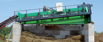 conveyor belt for waste treatment max. 150 m³/h |MULTISTAR 2-SE  Komptech