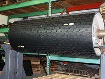 conveyor belt rubber pulley lagging Rapid-Lagg&reg; RICHWOOD