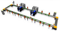conveyor system  COMAU S.p.A. - Powertrain Systems