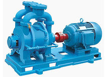 corrosion resistant liquid ring vacuum pump 1.5 - 27 m3/min | SZ series Shanghai Pacific Pump Manufacture Co.,Ltd