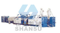 corrugated pipe extrusion line SSG series Qingdao Shansu Plastic Extrusion Equipment