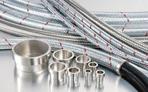 corrugated stainless steel flexible conduit PMB series Moltec International Ltd.