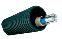 corrugated wiring protective conduit EUCAPROTECT Eupen Plastic Pipe Division
