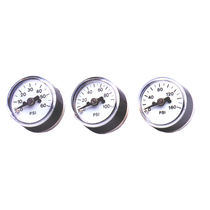 cost effective OEM Bourdon tube pressure gauge  AIR Logic