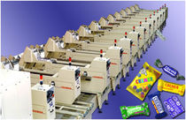 counting machine and cartoner for confectionery products max. 200 p/min Cremer speciaalmachines BV
