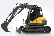 crawler excavator: midi excavator 10 t | 10MCR Mecalac
