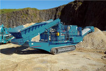 crawler mobile impact crusher 350 t/h (386 US tph) | XV350 Powerscreen