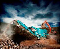 crawler mobile jaw crusher 400 t/h (441 US tph) | XA400S, XR400S Powerscreen