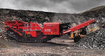 crawler mobile jaw crusher 261 kW (350 hp) | J-1175  TEREX Mobile Processing Equipment