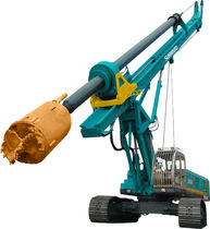 crawler rotary drill Dia. Max 3 m;  Depth Max. 105 m | SWDM series SUNWARD INTELLIGENT EQUIPMENT CO.,LTD.