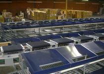 cross belt sorter  GBI Data and Sorting Systems
