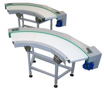 curved belt conveyor TCNRUCO OMT BIELLA