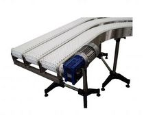 curved modular belt conveyor TSX-05 RENAU TRANSPORTADORS