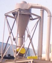 cyclone dust collector 5 000 - 20 000 CFM  Scientific Dust Collectors