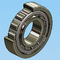 cylindrical roller bearing ID : 15 - 400 mm, OD : 35 - 540 mm, 11.2 - 4587 kN AST Bearings