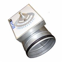 damper for heating system duct 180 - 10 800 m³/h | DF series SuZhou Foundation HVAC