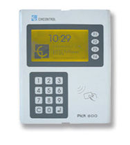 data collection terminal with keypad 85 - 240 V, 25 VA | PICK 800 CIRCONTROL SA