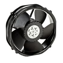 DC axial fan 220 x 200 x 51 mm | 2214 F/2TDH series ebm-papst