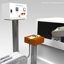 demagnetizer for robot process D-RL series Bussi Demagnetizing Systems
