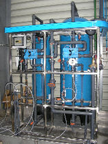 demineralisation plant (ion exchange resins)  TECAM