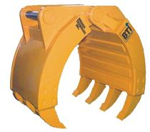 demolition grapple for excavator HG series Breaker Technology, LTD.