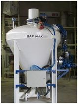 dense phase pneumatic conveying system  SAFMAK