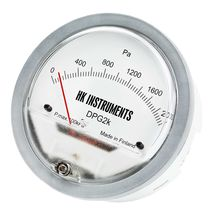 diaphragm operated differential pressure gauge with ABS housing DPG HK INSTRUMENTS