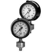 diaphragm seal Bourdon tube pressure gauge max. 5 000 psi | XR series AMETEK U.S. GAUGE