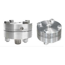 diaphragm seal for pressure gauges S21 series Indumart