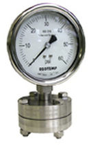 diaphragm seal for pressure gauges max. 5 000 psi Reotemp Instruments