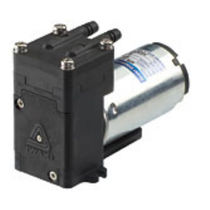 diaphragm transfer pump max. 1.2 l/min, max. 0.08 MPa | APN-W series IWAKI