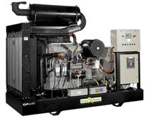 diesel power generator set 11 - 2 200 kVA, 1 500 rpm Green Power Systems