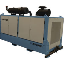 diesel powered plunger pump for water-jet cutting machines max. 55 000 psi (3 800 bar), 280 hp | iP55-280DS JET EDGE