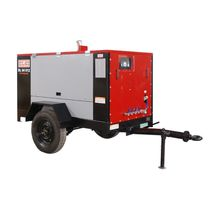 diesel powered screw air compressor (portable) 175 - 300 cfm, 100 psig | DL series ELGI