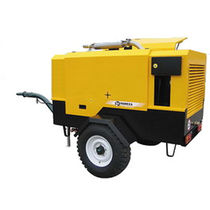 diesel powered screw air compressor (portable) 6 - 12 m³/h, 7 - 10 bar | DK series Remeza