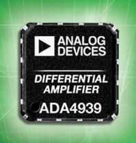 differential amplifier ADL5xxx, ADAxxxx, ADxxxx series  Analog Devices