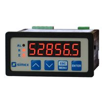 digital flow rate indicator - totalizer SPI-73 SIMEX